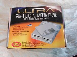 Ultra 7 In 1 Digital Media Drive USB 2.0 Internal Digital ULT-31793