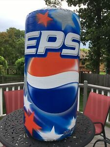 Pepsi 2003 Stars & Stripes 12oz. Can 4-feet Tall 22-inches Wide Inflatable New