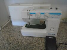 Euro Pro Portable Free Arm Sewing Machine with Cover & 24 built in stitches NICE