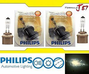 Philips Standard 880 27W Fog Light Two Bulbs Fog Light Replacement Upgrade Lamp
