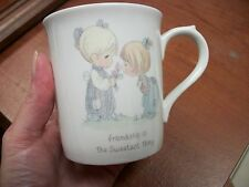 Precious Moments Friendship is the Sweetest Thing Coffee Mug Cup