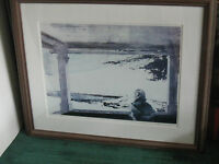 """Rare Hand Signed Limited Edition Andrew Wyeth Print """"EASTER SUNDAY"""" 539/850. COA"""