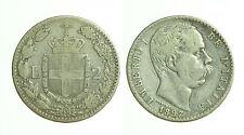pci0360) Regno Umberto I Lire 2 Stemma 1897