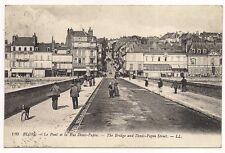 blois  le pont et la rue denis-papin