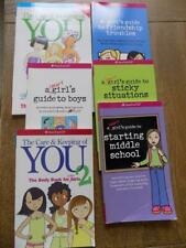 AMERICAN GIRL Keeping&Taking Care of You,Sticky Situations++MORE! 6 Books LOT#1