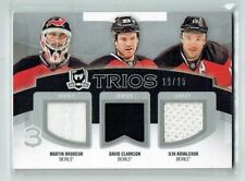 12 13 UD The Cup Trios  Martin Brodeur--David Clarkson--I Kovalchuk  /25 Jerseys