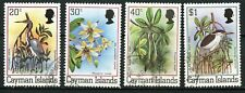 Cayman Island, 1980, Scott #456 - 458, & 460, used and never hinged