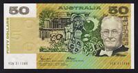 Australia R-509a.. (1985) Fifty Dollars - Johnston/Fraser... Gothic.. UNC