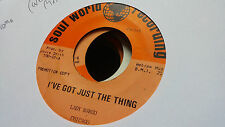 Lady Margo 45 I've Got Just the Thing Promo Rare Chicago Modern Funk Blues Deep
