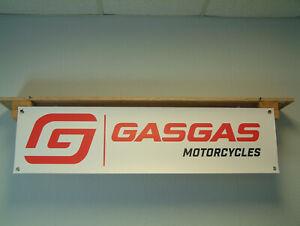 GAS GAS Motorcycles off road garage workshop banner pvc poster sign