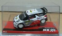 Scx Citroen DS3 WRC  Qatar Rally Scalextric Slot Car 1/32 nuevo