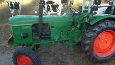 Oldtimer Traktor KLÖCKNER  HUMBOLD. DEUTZ 40 05 D mit TüV05.19