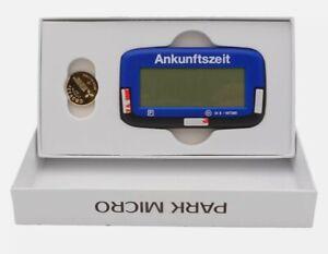 Digitale - Parkscheibe - Mikro PS-1800 elektronische Parkscheibe mit Zulassung