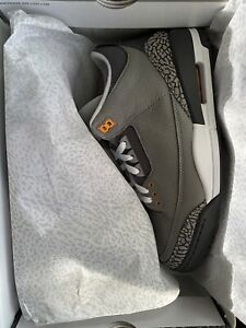 Air Jordan 3 Retro Cool Grey Size 10 IN HAND READY TO SHIP