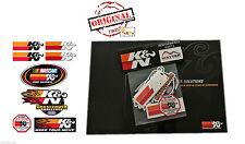 ORIGINAL K&N Motorsport Aufkleber Set - 8, Sticker, Autocollan Decal KN, K und N