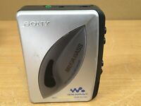 SONY WALKMAN WM-EX190 Mega Bass Cassette Player Silver (FAULTY)