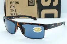 Nuevo Costa Del Mar Sur Mar Gafas Sol Retro Carey/ Gris 580P Lente Polarizada