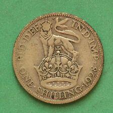 1928 George V Silver Shilling SNo19392
