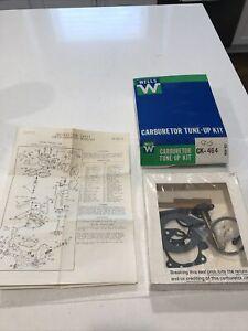 NOS Wells Carburetor Tune Up Kit Carter YFA 1BL 75-77 Ford V6 Comet Granada