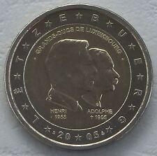 "2 Euro Luxemburg 2005 ""Henri et Adolphe"" unz"