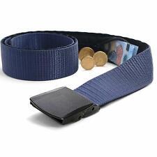 ALISTAR Cintura Portasoldi Da Viaggio Nascosta Sicura e Resistente 120 cm Blu