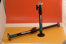 Colonne de table à air comprimé - 385 de Manfrotto noire avec base 58mm