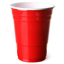 Red American Party Frat Cups Beer Pong Strong Disposable 12oz/340ml x 5000