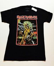 IRON MAIDEN KILLERS NEW OFFICIAL LICENSED Metal Band Black T-Shirt Size M EDDIE
