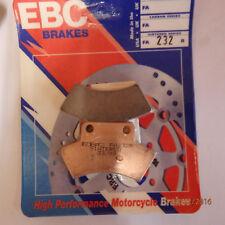 EBC Disc pads FA232R Sintered  TRIUMPH, HONDA