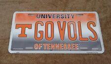 Tennessee Volunteers GO VOLS Metal License Plate NEW