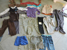 Lot vêtements garçon 3 ans (19 pièces) shorts, pantalons, tee-shirts (lot n°2)