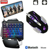 Protable PUBG Mobile Gamepad Controller Gaming Keyboard Mouse For Andorid IOS