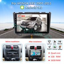 "9"" Android 9.1 For HONDA CRV 2007-2011 GPS  Car Stereo 2DIN DVD Player + camera"