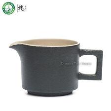 Nero Zen cinese Gongfu Fiera Tazza da tè in ceramica Brocca Serving 190ml