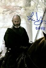 LIAM CUNNINGHAM signed Autogramm 20x30cm GAME OF THRONES in Person autograph COA