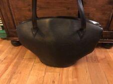 Louis Vuitton Noir Saint Jacque EPI style handbag