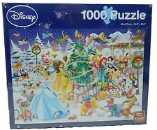 Original Disney Puzzle King Mickey Donald 1000 Teile 5266 Winter Wonderland