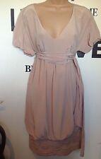 Zara V-Neck Short Sleeve Dresses Midi