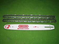 Schwert Oregon 40 cm + 2 Ketten für Partner P 370, 371, 390, 842, Poulan 2250