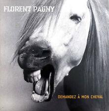 Florent Pagny CD Single Demandez À Mon Cheval - Promo - France (EX+/M)