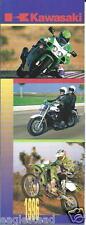Brochure - Kawasaki - Product Line Overview Motorcycle ATV Jet Ski 1996 (DC404)