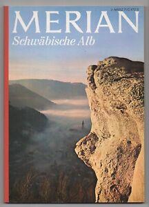 """#11.191# MERIAN """"Schwäbische Alb"""" - März 1971"""