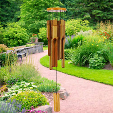 """New listing Astarin Bamboo Wind Chimes Outdoor,Wooden Wind Chimes with Melody Deep Tone,30"""""""