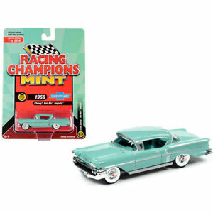 1958 CHEVROLET BEL AIR IMPALA GLEN GREEN 1/64 DIECAST RACING CHAMPIONS RCSP013