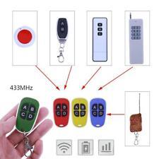 Universal 433MHz 4 teclas de control remoto inalámbrico la clonación de puerta de garaje Duplicador
