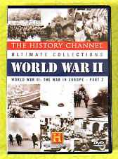 World War II: The War In Europe Part 2 ~ New DVD ~ History Channel WWII Show