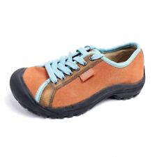 Keen Womens 7 Shoes Orange Black Low Top Lace Up Hiking Outdoor