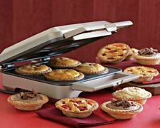 NEW Breville The Personal Pie Maker Stainless Steel 4 Pie BPI640XL OPEN BOX