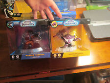 LOT 2 SKYLANDERS IMAGINATORS BLASTER-TRON & MASTER TIDEPOOL LIGHT,WATER SENSEI