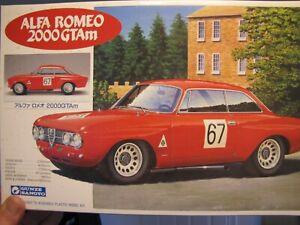 Gunze Sangyo Alfa GTA Racer - some assembly